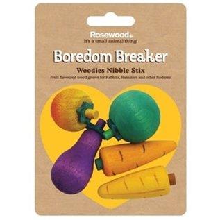 Rosewood Boredom Breaker Nibble Stix 3D Fruit