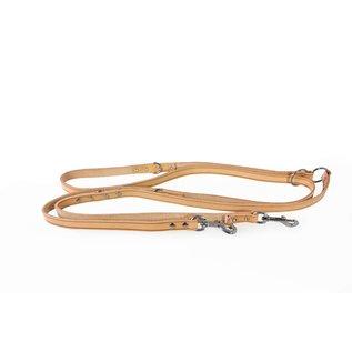 Das Lederband Verstelbare leren lijn Naturel - Weinheim - B:18mm L:300cm