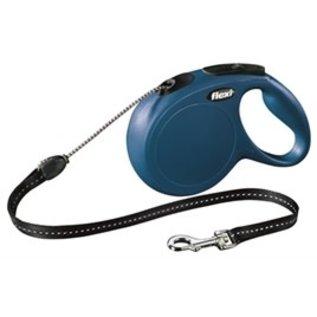 Flexi Flexi Classic Cord Blauw M 8Mtr
