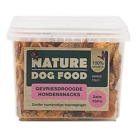 Nature Dog Food Nature Dog Food Snack -100% Zalm