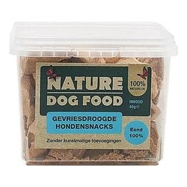 Nature Dog Food Nature Dog Food Snack - 100% Eend