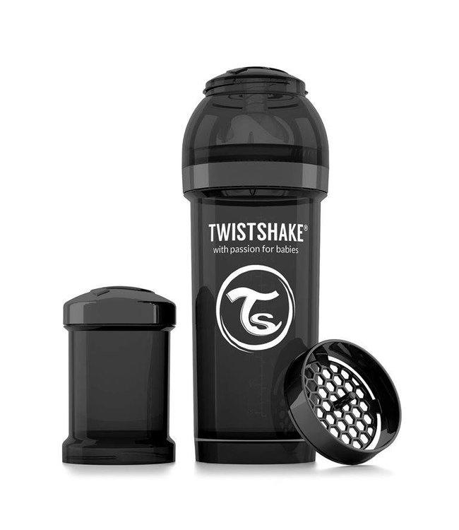 Twistshake TwistShake biberon anti-colique 260 ml - Noir