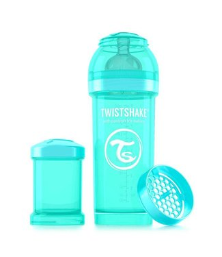 Twistshake TwistShake baby bottle anti-colic 260 ml - turquoise