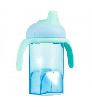 Difrax Difrax blue anti leak drinking cup soft spout