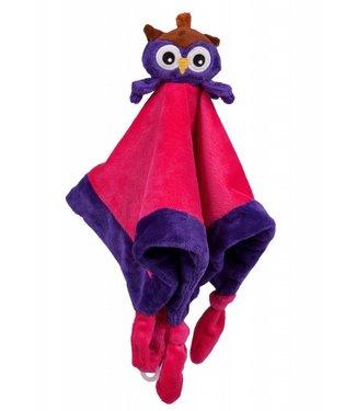 My Teddy Purple chiffon hibou mon nounours