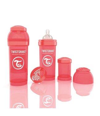 Twistshake TwistShake babyfles antikoliek 260 ml - perzik