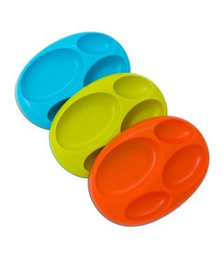 Boon Inc Bean anti-slip Platter plates