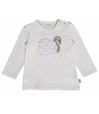 Hust & claire Hust & Claire girls tshirt swan