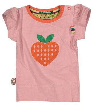 4funkyflavours 4funkyflavours meisjes tshirt Strawberry Swing