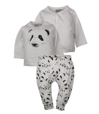 Dirkje kinderkleding Dirkje vêtements de bébé unisexe ensemble ours