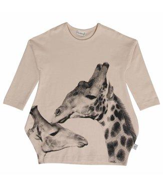 Hust & claire Hust & Claire filles roses habillent la girafe