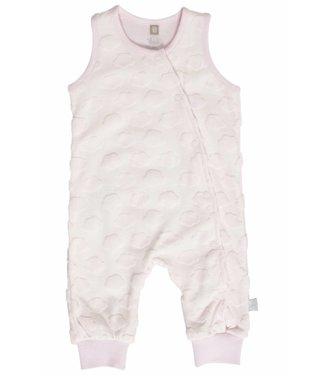 Hust & claire Hust & Claire jumpsuite wolkjes roos