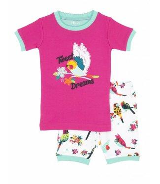 Hatley Hatley 2-piece girls summer pajamas Tropical Birds