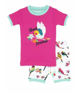 Hatley Hatley Pyjama d'été 2 pièces pour fille Tropical Birds