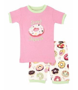 Hatley Hatley 2-piece girls summer pajamas Sweet Donuts