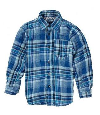 Name-it Jongens blauw hemd KEXTER Name-it