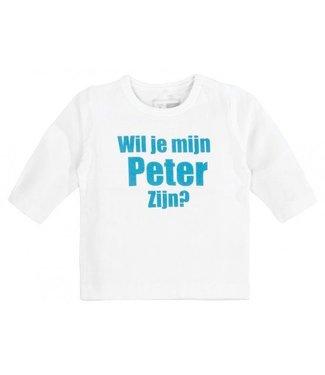 Name-it Tshirt wil je mijn Peter zijn