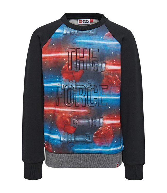Lego wear Black boys sweater Star Wars - The force