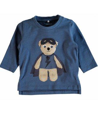 Name-it Blauwe t-shirt NITGESLIL Name-it