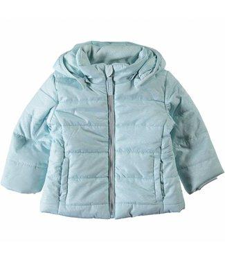 Name-it Girls light blue winter jacket NITMIT Name-it