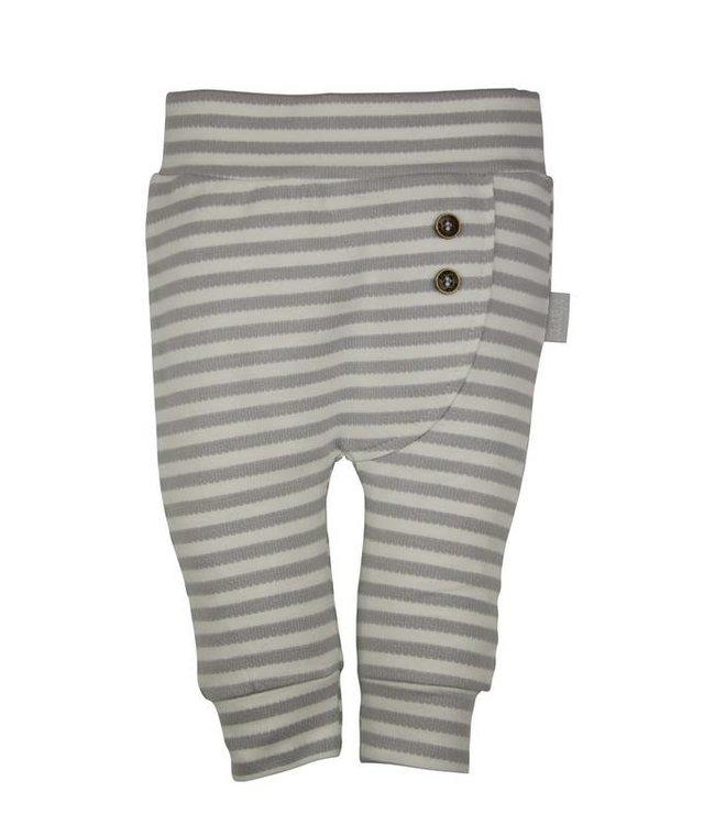 Dirkje kinderkleding Pantalon rayé gris Dirkje