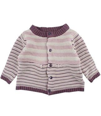 Fixoni Meisjes knit cardigan stripes Fixoni