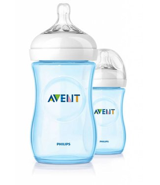 Avent Avent natural blue baby bottle 260ml