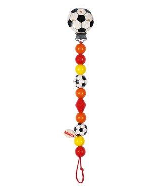 Heimess Heimess houten fopspeenketting voetbal