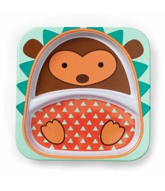 Skip hop Assiette à manger zoo hérisson