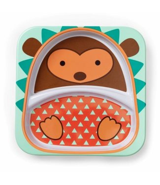 Skip hop Dining plate zoo Hedgehog
