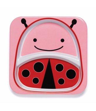 Skip hop Assiette à manger zoo Ladybug