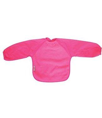 Silly Billyz Pink bib with long sleeve