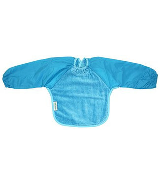 Silly Billyz Blue bib with long sleeve