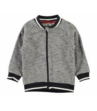Name-it Cardigan sweat gris pour garçons NMMGIFFER