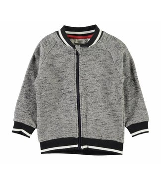 Name-it Gray boys sweat cardigan NMMGIFFER