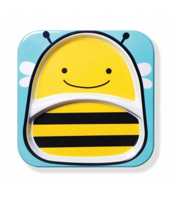 Skip hop Assiette à manger zoo Bee