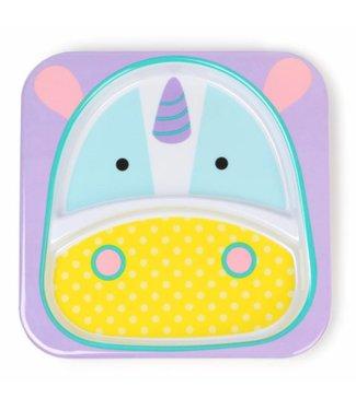 Skip hop Dining plate zoo Unicorn