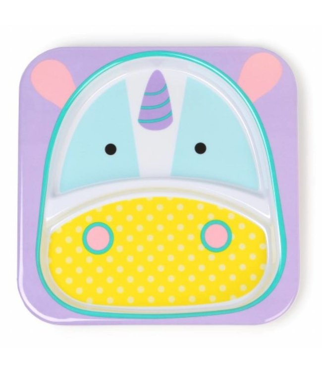 Skip hop Dining plate zoo Unicorn