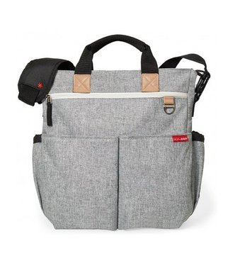 Skip hop Diaper bag Duo signature gray melange