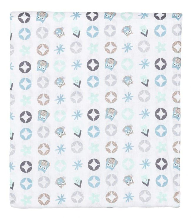 Plum Plum Babygoods Sheet bed or cot Owl Family