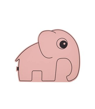 Done by deer Pink placemat elephant