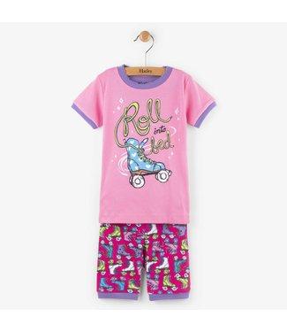 Hatley Hatley 2 pièces pyjama court Roller girl
