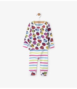 Hatley Hatley 2-piece pajama Ladybirds