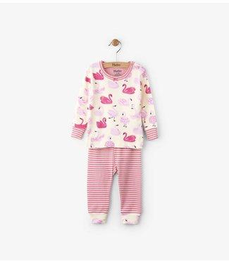 Hatley Hatley 2-piece pajamas dancing swans
