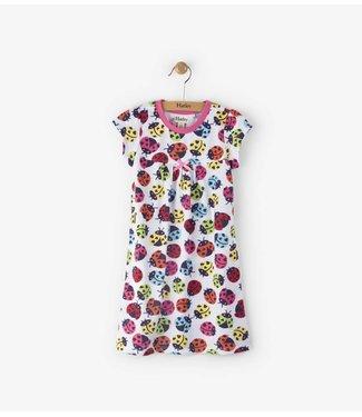 Hatley Hatley chemise de nuit coccinelles