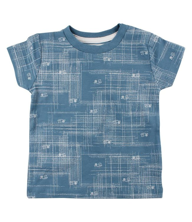 Rags Kinderkleding.Small Rags T Shirt Arcering Aegean Blue Baby En Kinderspeciaalzaak