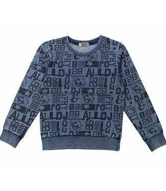 Dj Dutchjeans Dj dutchjeans blue boys sweater body mind project