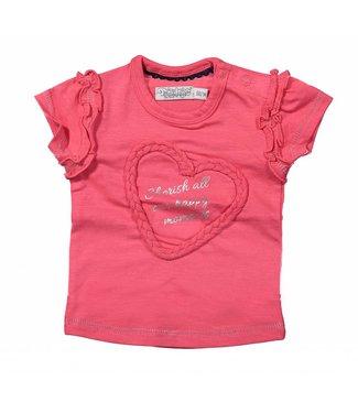 Dirkje kinderkleding T-shirt rose de Dirkje Moments chers