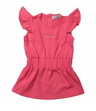 Dirkje kinderkleding Dirkje pink girls dress Cherish