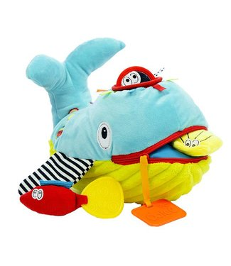 Dolce toys Dolce toys Knuffel Play and learn Whale